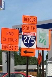 Detour - Freeze the Litigation