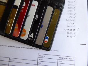 credit cards and money divorce