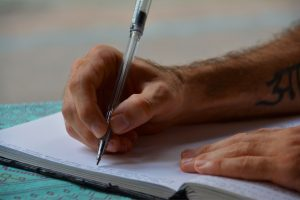 journaling not talking trash