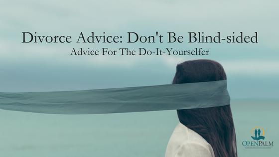 DIY Divorce Advice