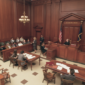 courtroom instead of collaborative divorce